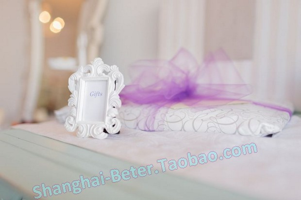 white Baroque Style Photo Frame Party Decoration