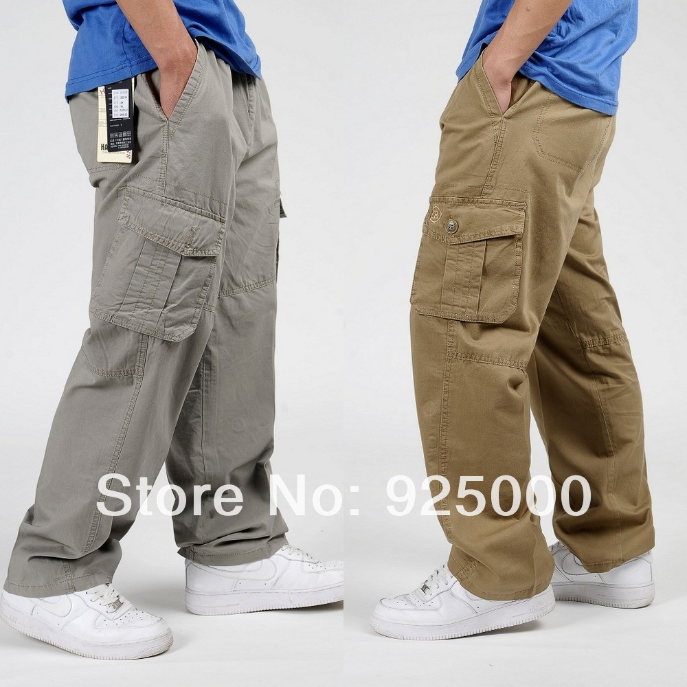 Cheap-Fashion-Men-s-Cargo-Pants-casual-Trousers-Outdoor-overalls-Baggy-Pants-plus-size-Wholesale-retail