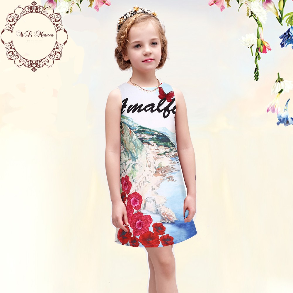 Wlmonsoon-Girl-Dress-2016-Summer-Dress-Girl-Clothes-Robe-Fille-Enfant-Floral-Print-Princess-Dress-Toddler