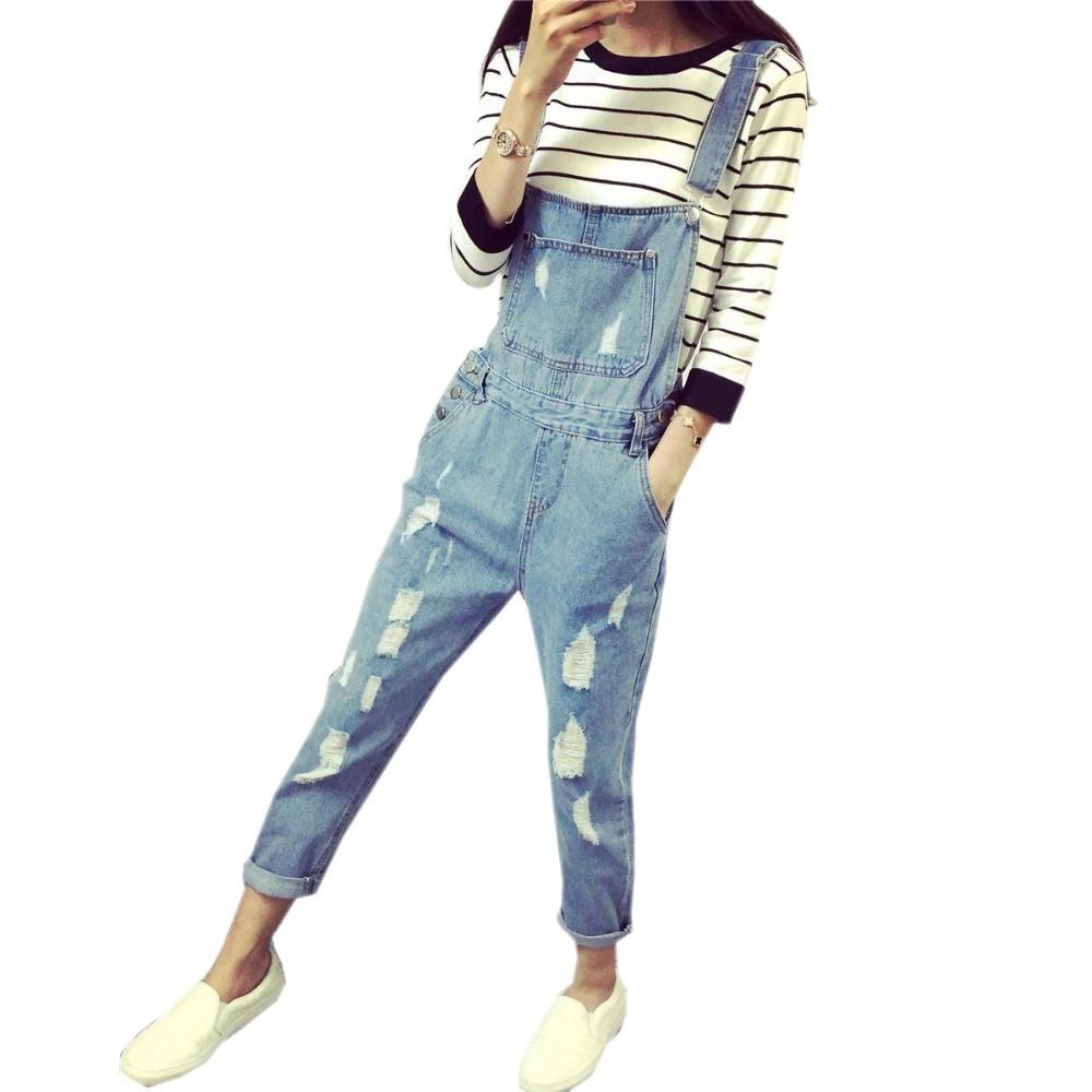 Korean-Style-Summer-Denim-Jumpsuits-2016-Fashion-Women-s-Overalls-Female-Hole-Denim-Strap-Trousers-Preppy