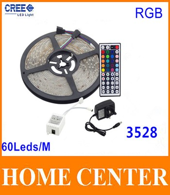 5M-3528-RGB-300Leds-Led-Strips-light-and-44Key-IR-Controller-and-12V-3A-Power-supply