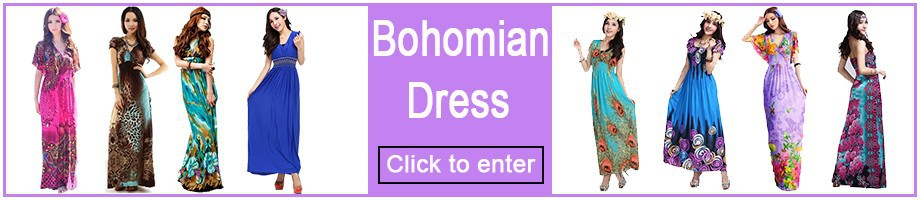 Dress bohomian