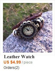leather watch HW662