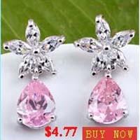 Zircon earrings5