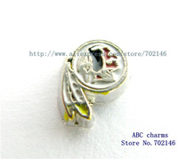Free Shipping wholesale  New Style 10pcs  Washington Redskins Floating locket Charms FC985 Fit Glass Floating Locket