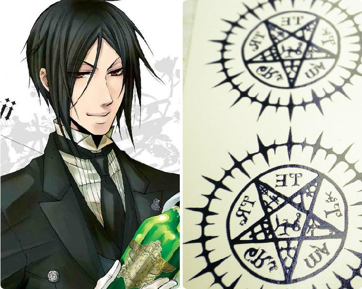Sebastian Michaelis tattoo 1