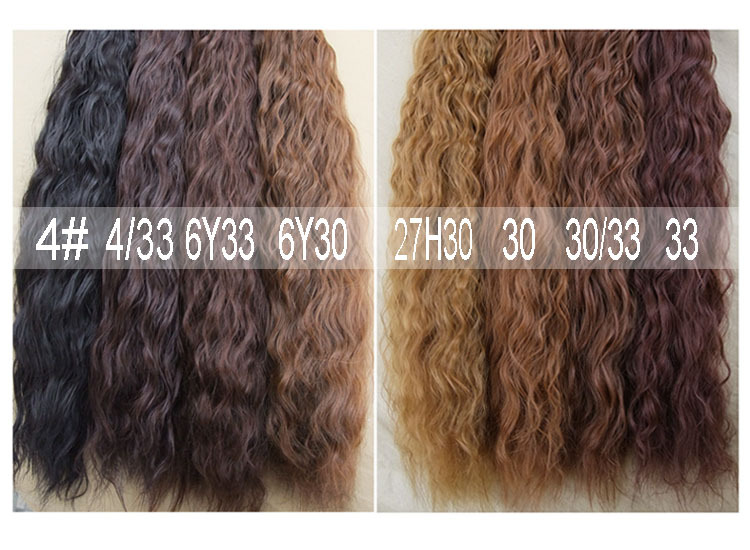 Purple long curly cosplay wig styling hair to stay