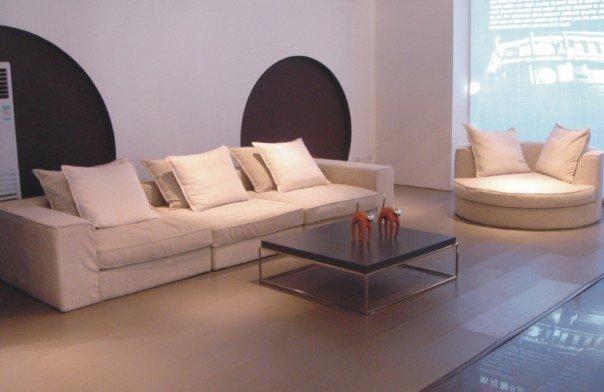 Sof de la tela 8018 natuzzi estilo moderno sof - Sofas natuzzi precios ...
