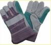 Cow Split Gloves Reinforced