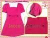 M2M Classic Elegant Puff Sleeve 1 Pc Dress Jacco Fashion