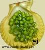 Plain White Heart Beads