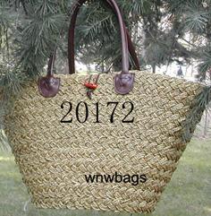 Пляжные сумки вязаные