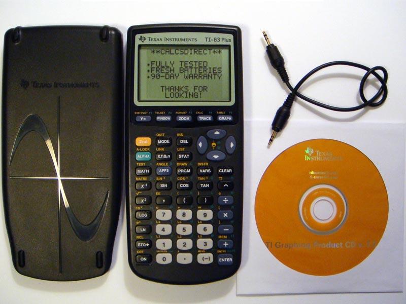 Ti 83 Calculator. [FS] Ti-83 Plus Graphing