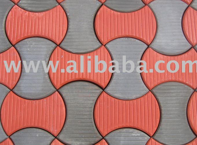Molde de pl stico para la fabricaci n de enclavamiento for Moldes para adoquines