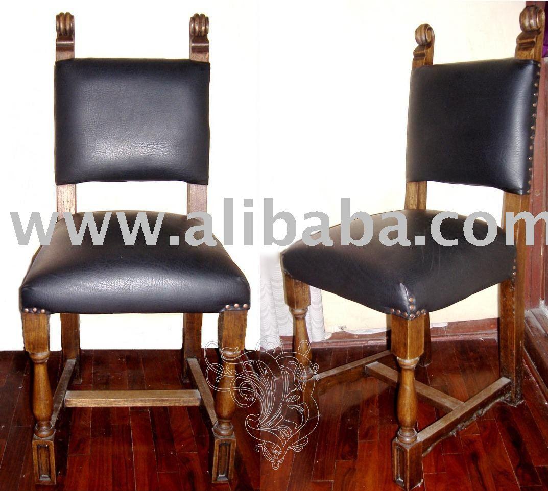 Chaise rustique de d ner chaises de salle manger id du for Chaise de salle a diner