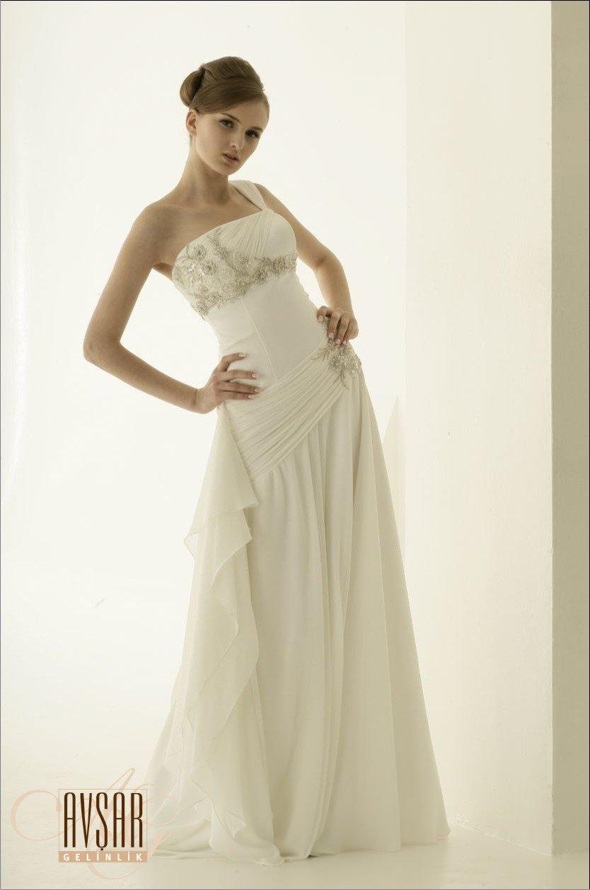 Nevika White Wedding Dress