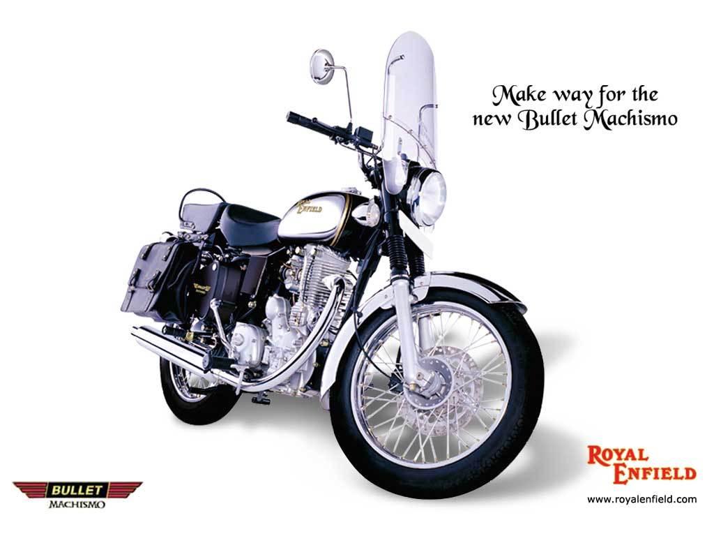 Royal Enfield Bullet Machismo Cruiser Bike wallpaper