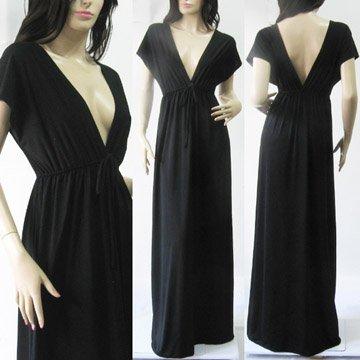 Black Long Dress on Black Kimono Batwing Long Maxi Dress Wholesale Jpg