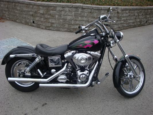 The Harley Davidson Dyna 2008