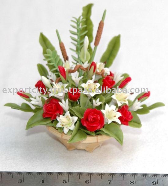 Миниатюрные цветы флорист масштаба 1
