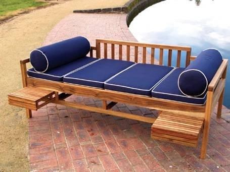 wexford tagesbett mit kissen set im garten produkt id 105624152. Black Bedroom Furniture Sets. Home Design Ideas