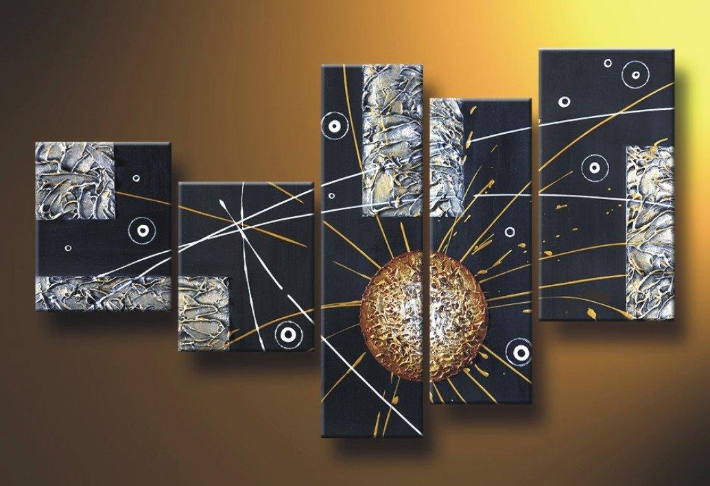 Cuadros abstractos modernos la norma en acrilico - Leroy merlin cuadros modernos ...