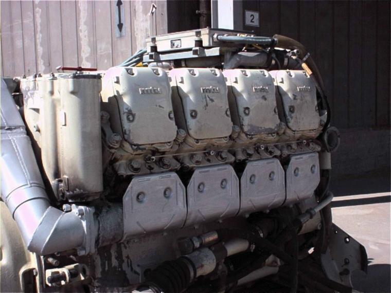 mtu diesel: