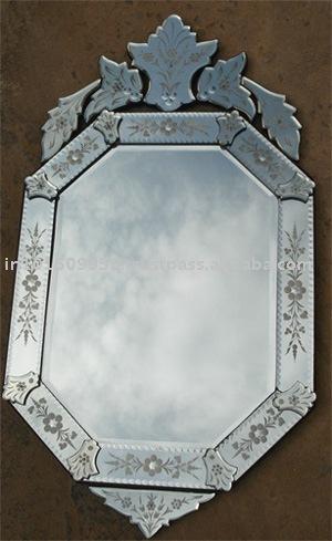 Venetian mirror miroir id du produit 106438474 french for Miroir venitien