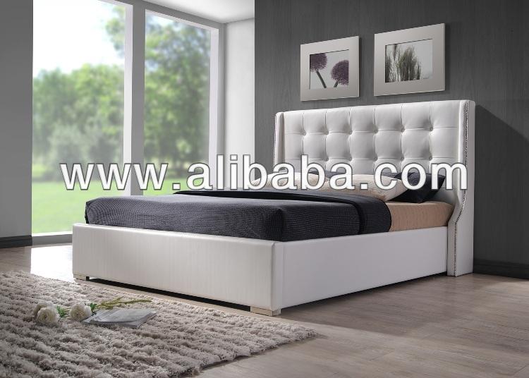 Muebles de dormitorio muebles camas cama de cuero de - Sweet home muebles ...