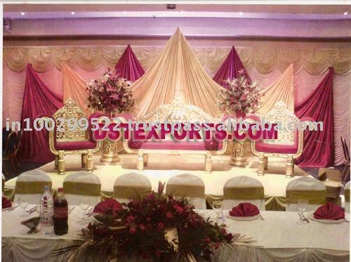 MAHARAJA WEDDING STAGE Voir une plus grande image