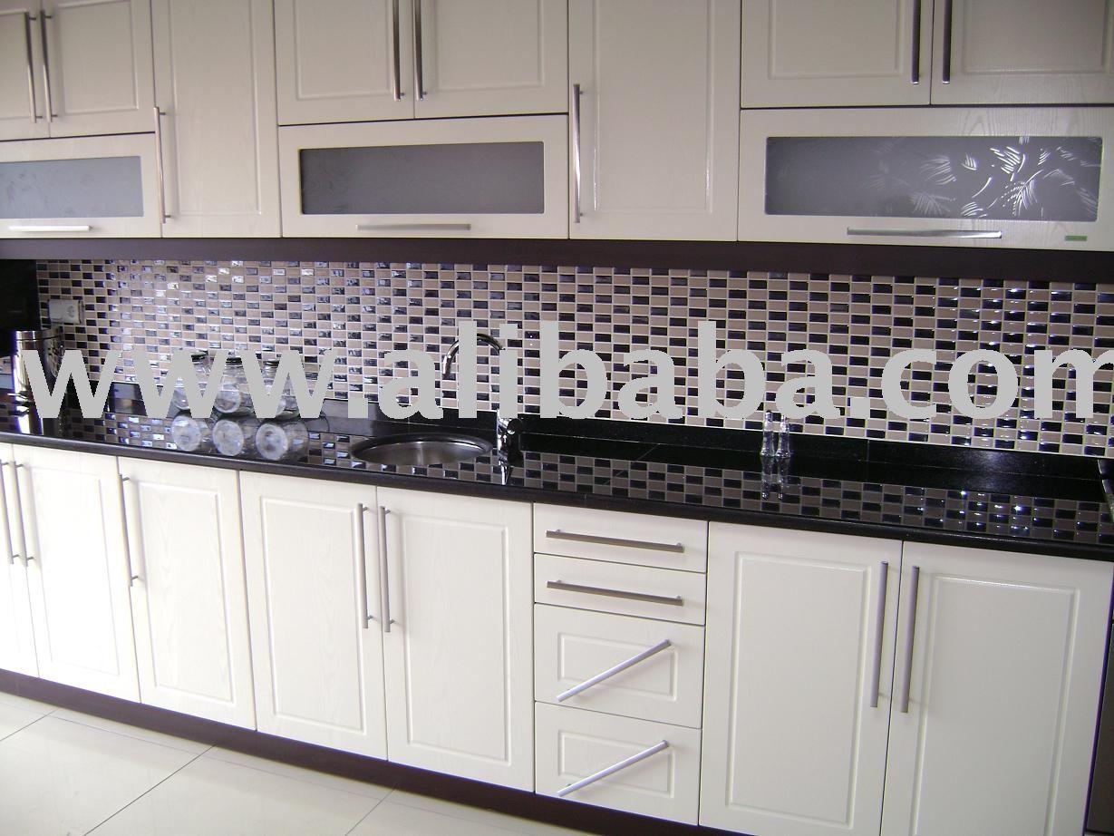 Mosaico de azulejos na cozinha pav o revestimentos - Cocinas con mosaico ...