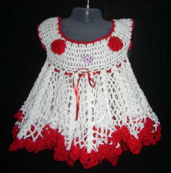 vestido de ganchillo - spanish.