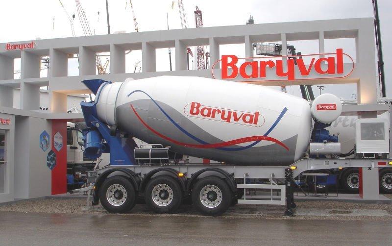 allestimento betoniere su camion BARYVAL_SEMI_TRAILER_CONCRETE_MIXER