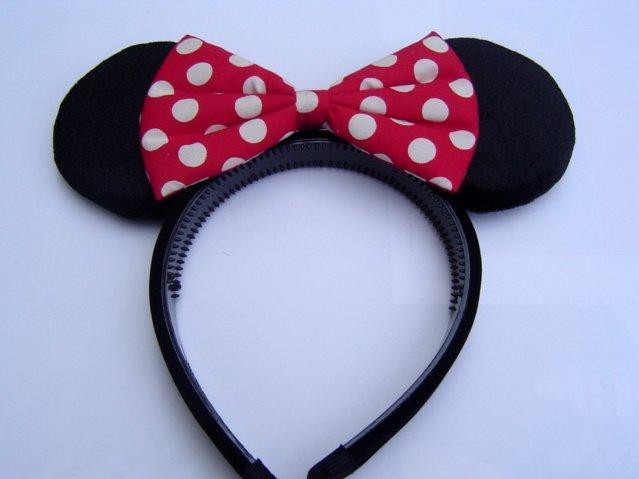 Minnie mouse ouvidos bonito arco traje vestido de alça - portuguese.