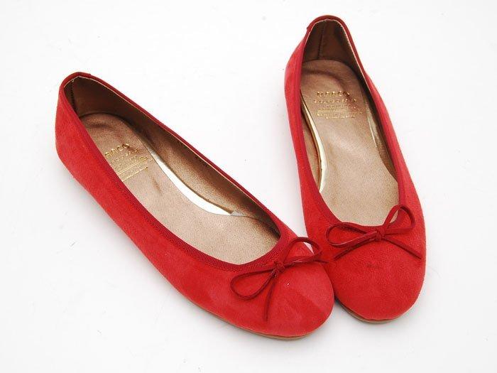 ����� ������ ������ mc164_women_s_suede_flat_shoes_Red.jpg
