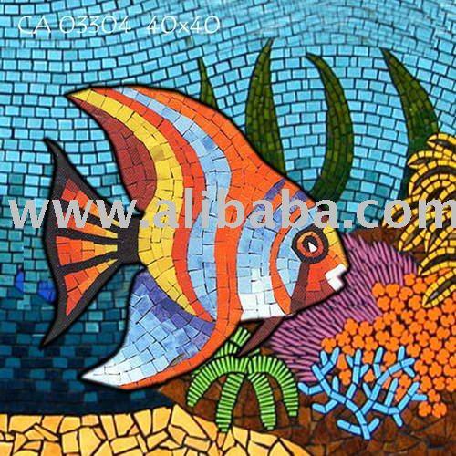 الخزف اليدوية - تحت الماء - 033 السمك