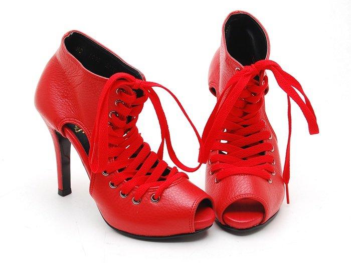 أحذية باللون الأحمر.....روعة mc1043_Women_s_lace_