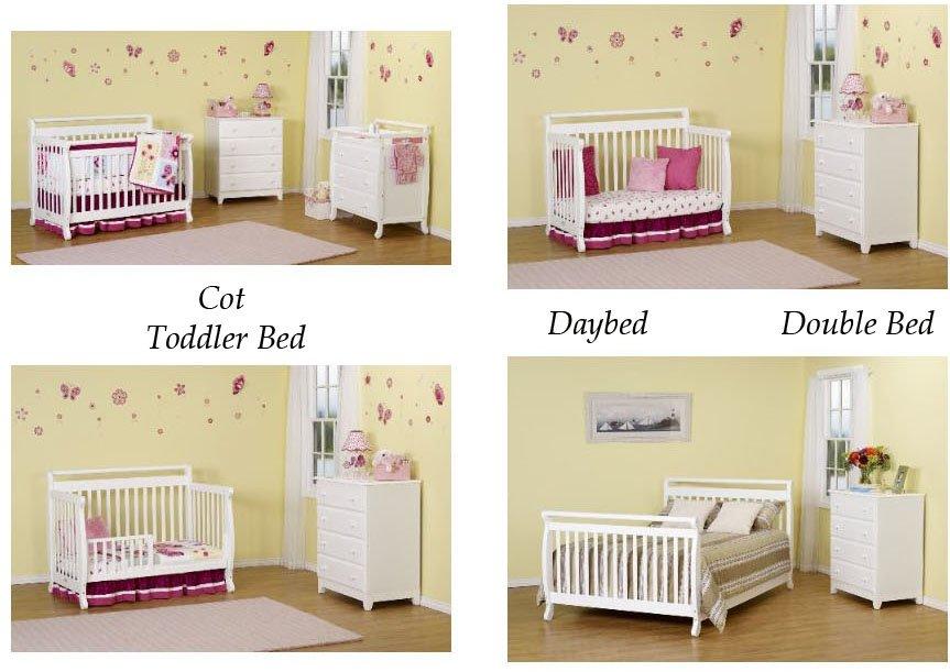 Habitacion consta de una cuna convertible en cama grande - Vtv mobiliario infantil catalogo ...