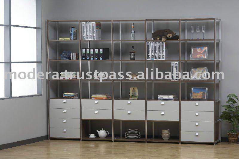 Mobiliario de sala librer as estanter as identificaci n - Mobiliario para libreria ...