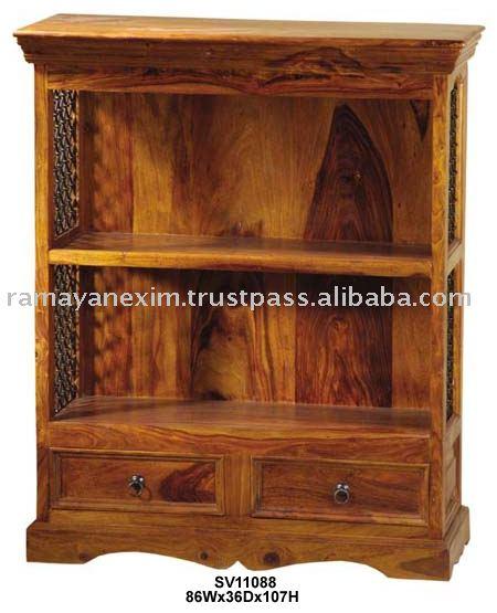 Librer a estante para libros estante de libro muebles for Libros de muebles de madera