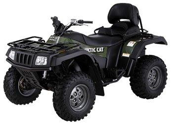 2006 Arctic Cat 400 4x4 TRV Automatic Handmade Black Marine Grade ATV Seat Cover