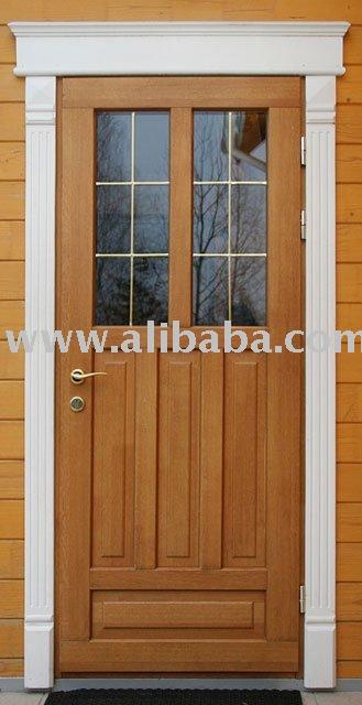 Puertas exteriores de madera puerta identificaci n del for Puertas de madera exterior precios