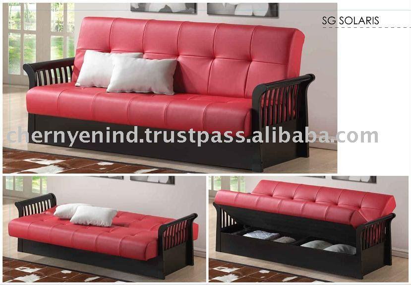 Cama de sof camas de sof futon cama de sof del futon for Futon cama precio