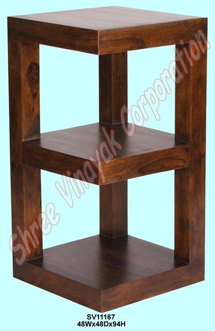 Librer a muebles de madera estante de exhibici n for Libros de muebles de madera