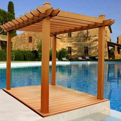Outdoor Wood on P  Rgola Compuesta De Madera Al Aire Libre   Spanish Alibaba Com