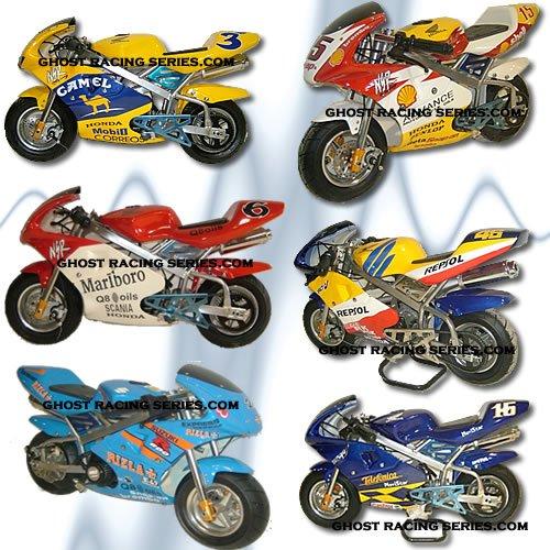 Moto Gp Minimoto, Mini Moto Rizla, Telefonica, Camel & More