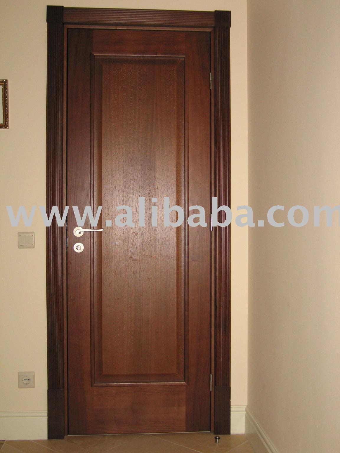 Puertas interiores de madera puerta identificaci n del - Puertas en madera para interiores ...