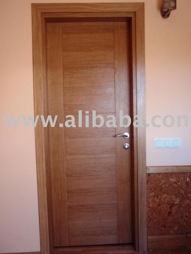Puertas de madera interiores puerta identificaci n del for Puertas en madera para interiores