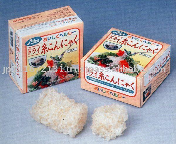 Avantages pour le régime dukan dans Le Konjac Dried_Konjac_Noodle