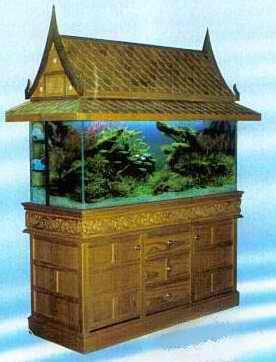 أحواض  سمك  مختلفة Handmade_Solid_Teakwood_Cabinet_Aquariums